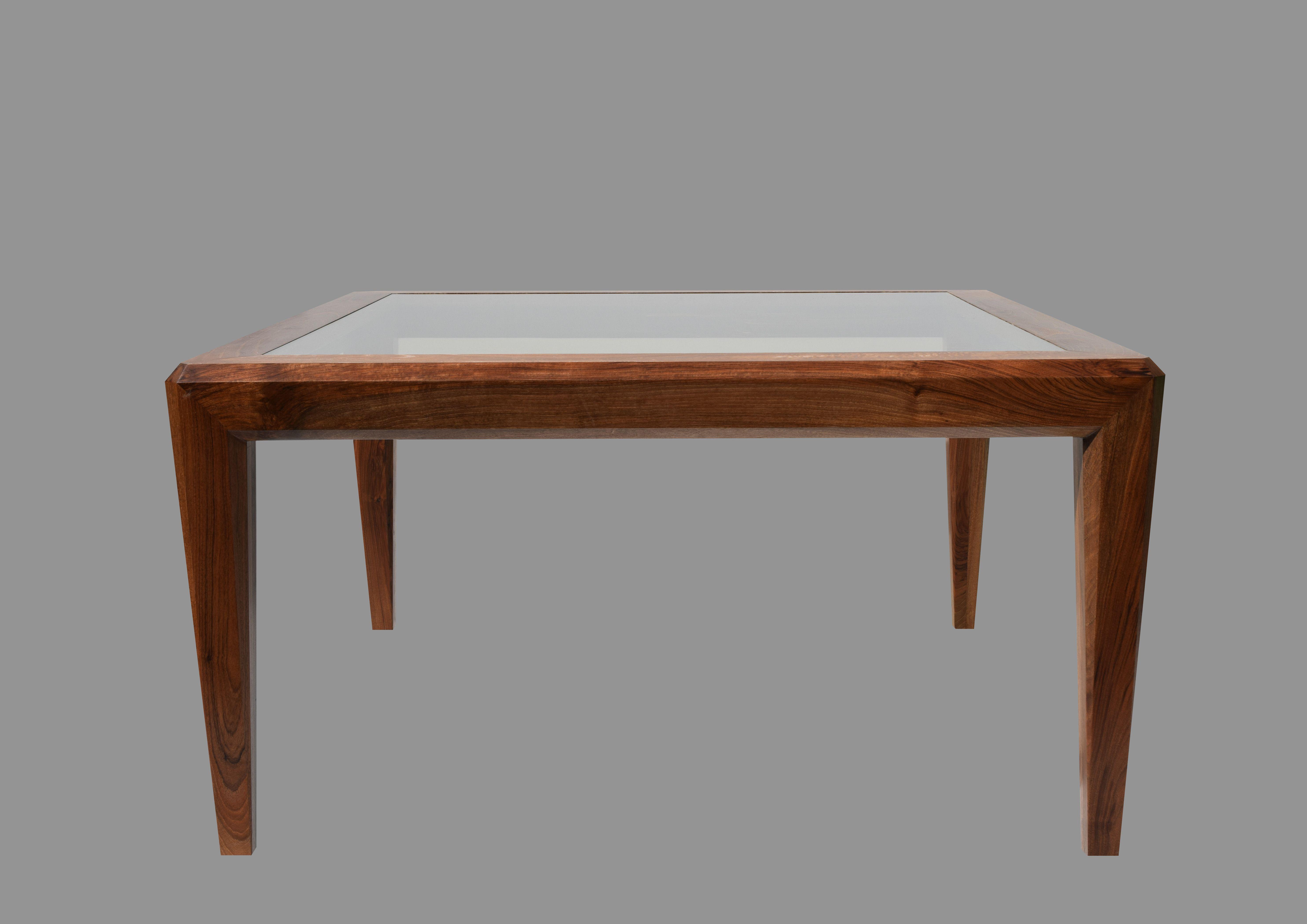 CAPOTAVOLO quadro vetro Tavoli in legno, Tavolo legno