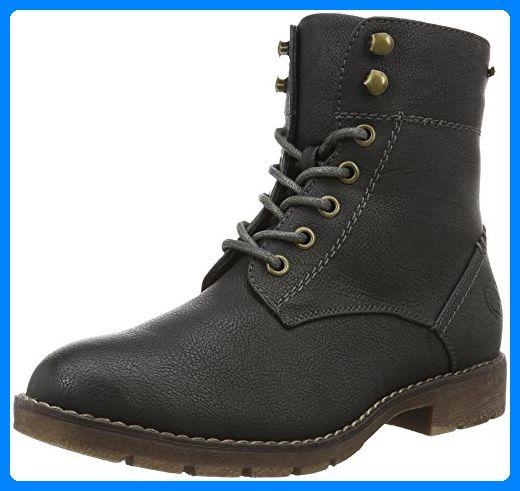 Bullboxer 958501E6L, Zapatos de Cordones Oxford para Mujer, Plateado (Silver Gunn), 38 EU