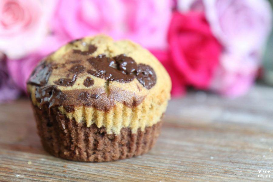 Marmor Muffins backen - perfekt für Kinder - Mrs Flury