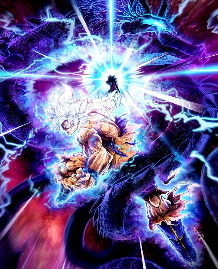 Ultra Instinct Dragon Ball Super Wallpaper: Cosmic Dragon Fist, Dragon Ball