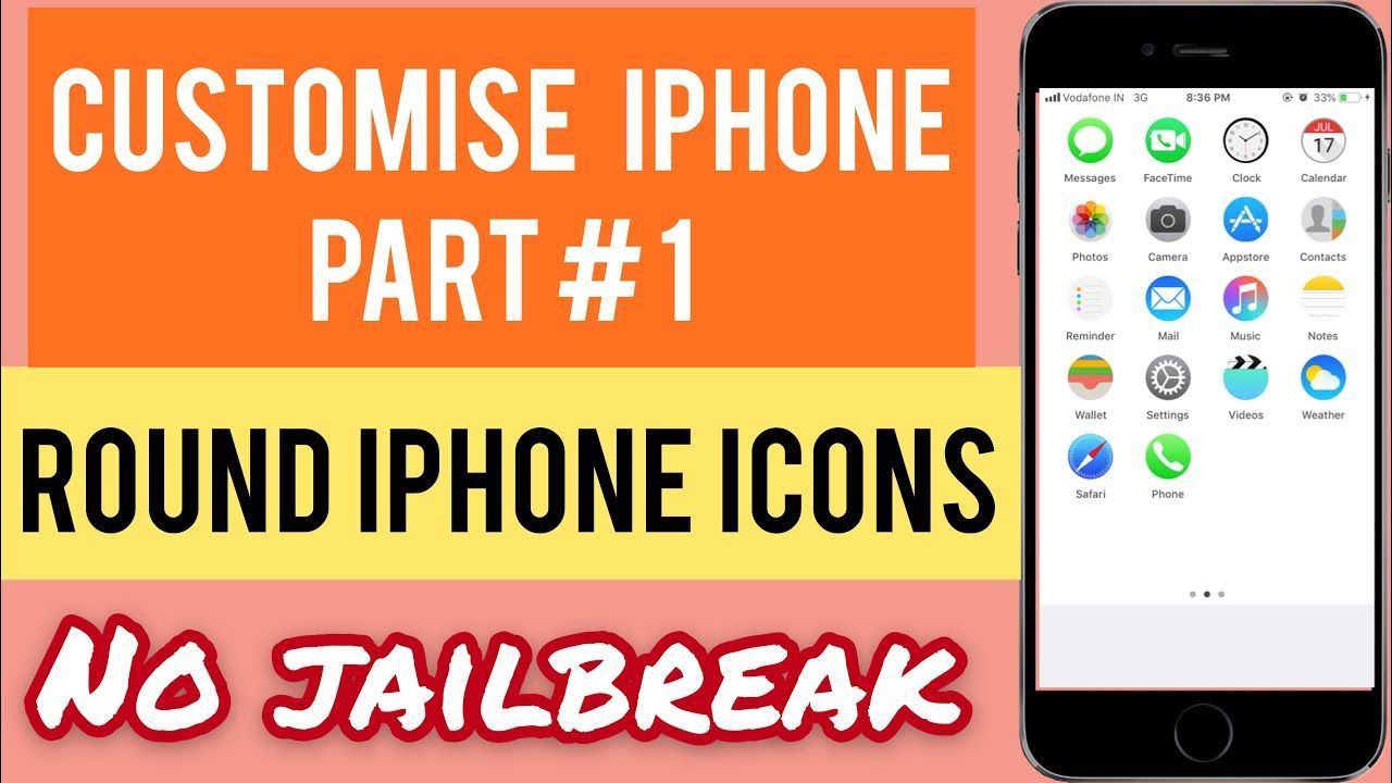 How to make a youtube logo on iphone