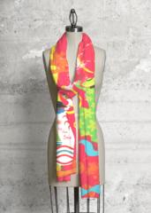 Dancing In Color Scarf: One of my favorite designs!