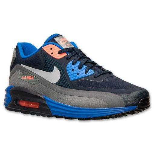 competitive price fbff3 8c7b9 Men s Nike Air Max Lunar90 Running Shoes - 654471 400   Finish Line