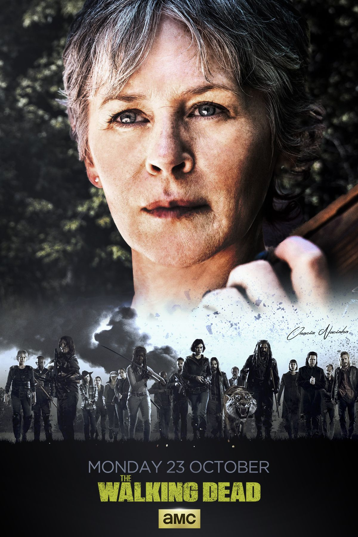 Walking Dead 2018 Wall Calendar Kalender 2018 The Walking Dead Walking Dead