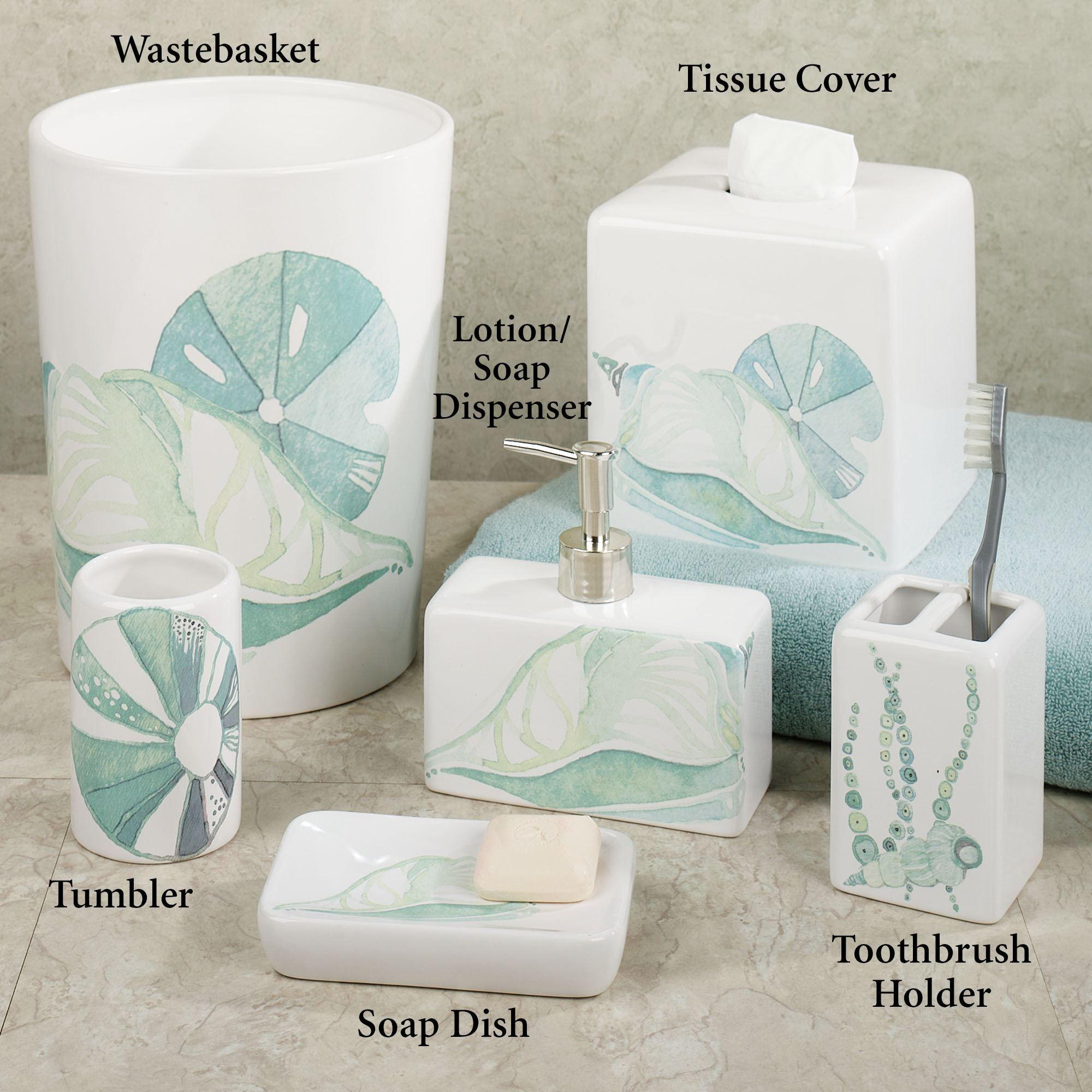 Bath Decor Home Accessories La Mer Ceramic Coastal