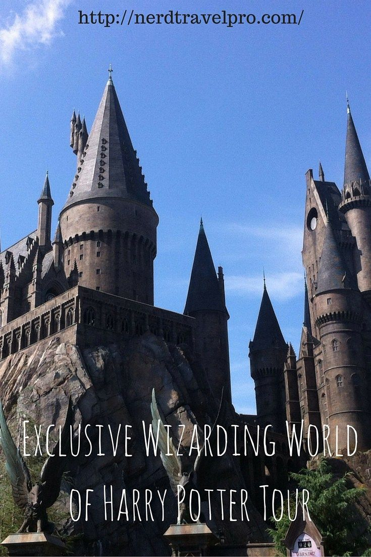 Exclusive Wizarding World of Harry Potter Tour