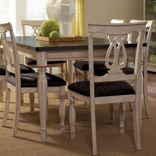 Begonia Two-tone 7-piece Dinning Set | Overstock.com Shopping - Big ...