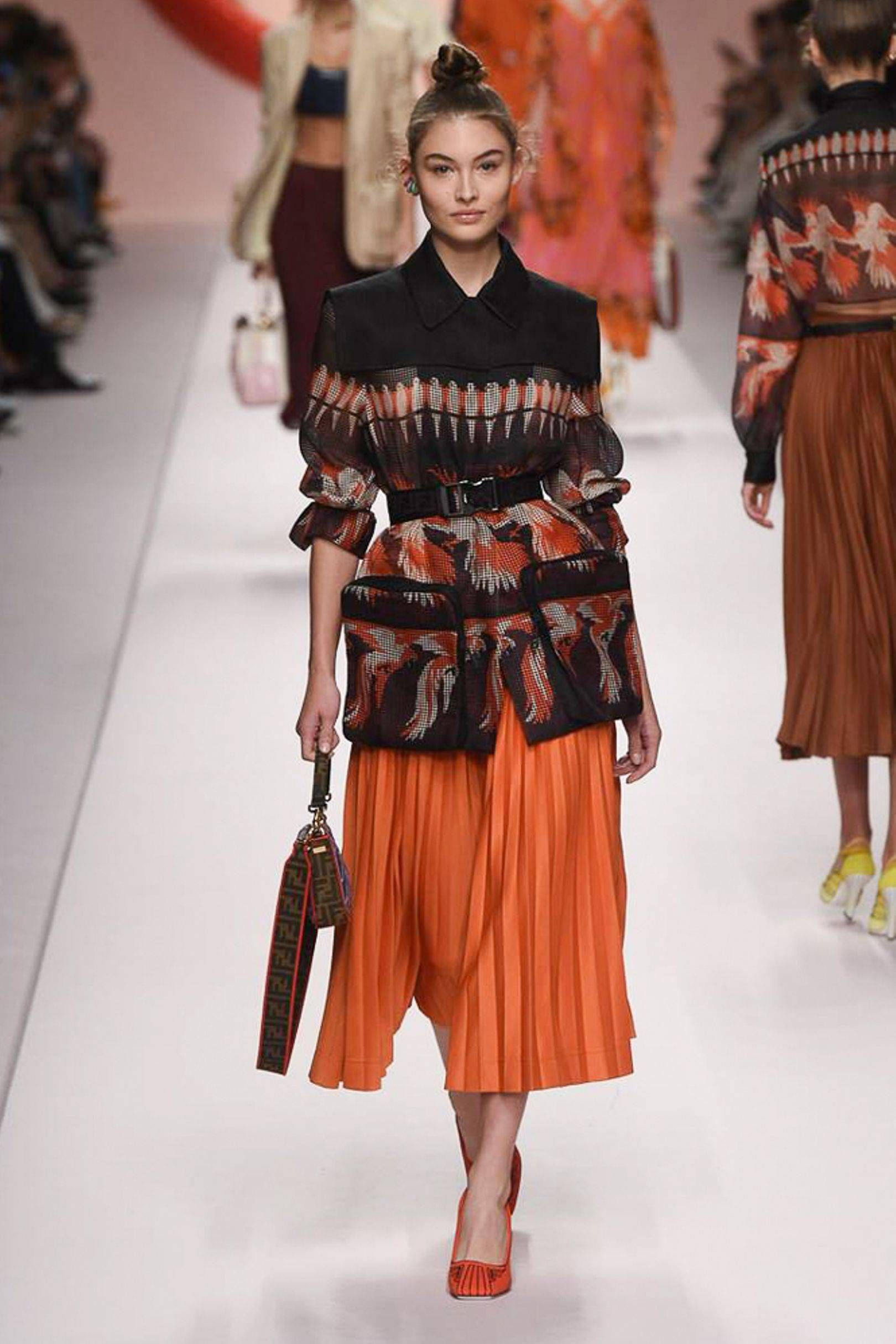 Hermes SpringSummer 2019 RTW Plays With Pops of Colors Fine Tailoring forecast