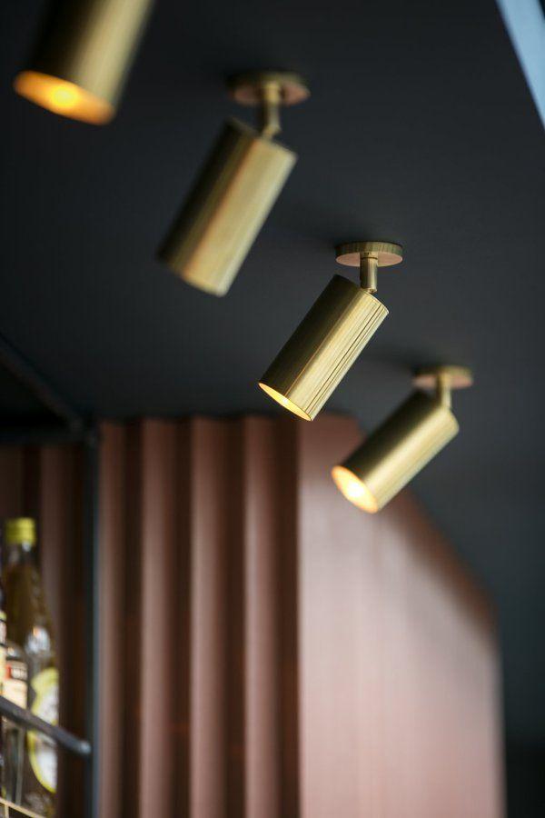 Cafe Waldeck Amsterdam Small Kitchen Lighting Track Lighting