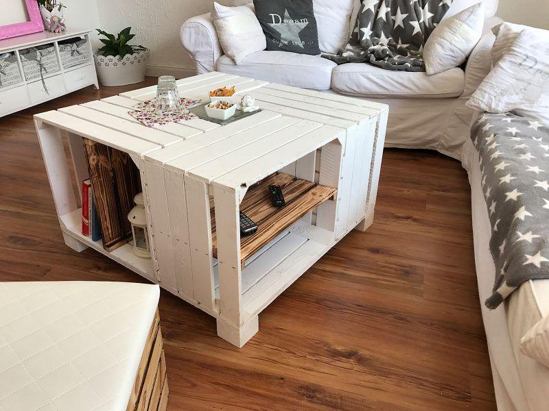 Weinkisten Tisch Selber Bauen Diy Pinterest Diy Wine Crate