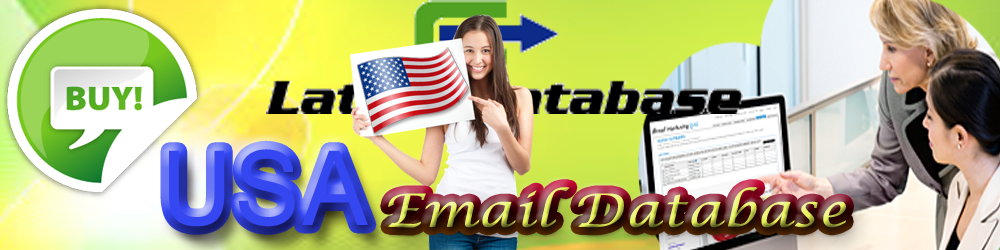 Usa Email database Email marketing lists, Email list