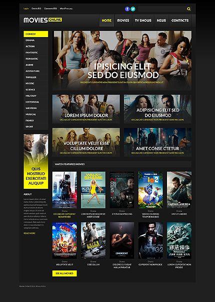 Online Cinema WordPress Theme | Great Premium Wordpress Themes ...