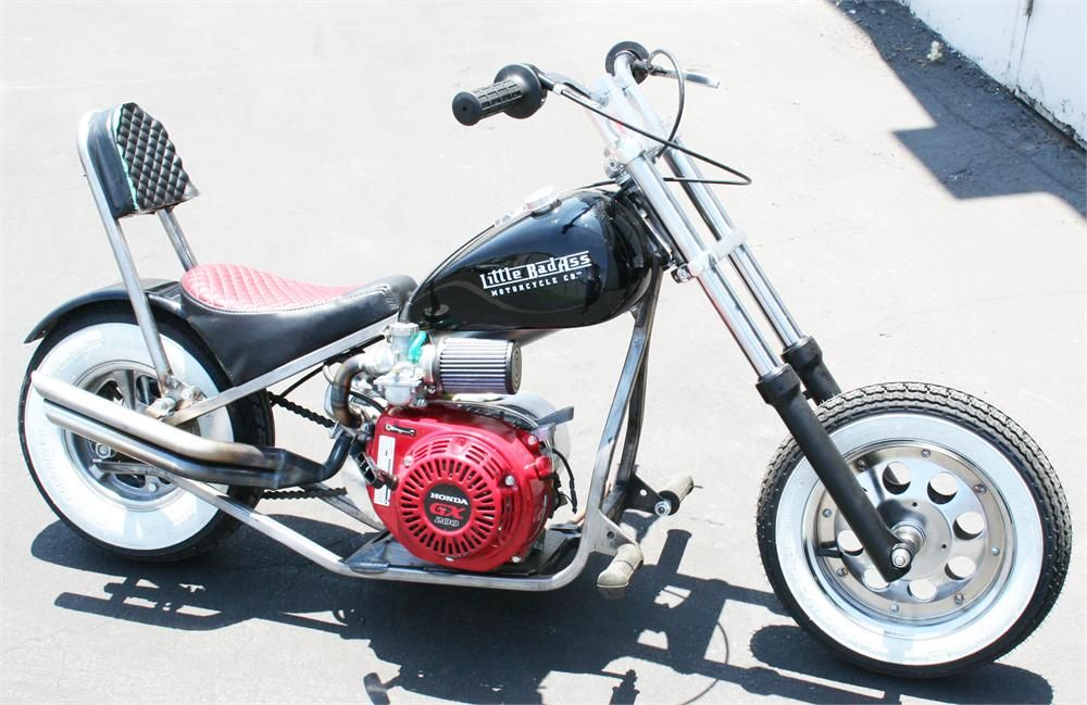 Little BadAss Mini Chopper Motorcycle