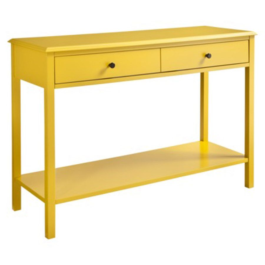 Yellow Console Table For Your Living Room Console Table Living
