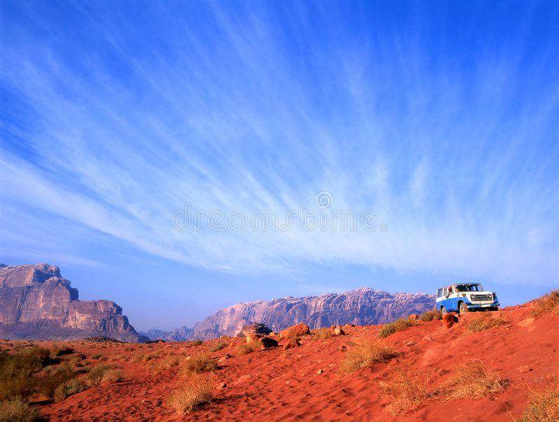4 wheel drive in Wadi Rum desert in Jordan. This Wadi Rum desert is well known b , #Aff, #Rum, #desert, #Wadi, #wheel, #drive #ad #wadirum