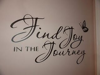 need this reminder- find joy in the journey