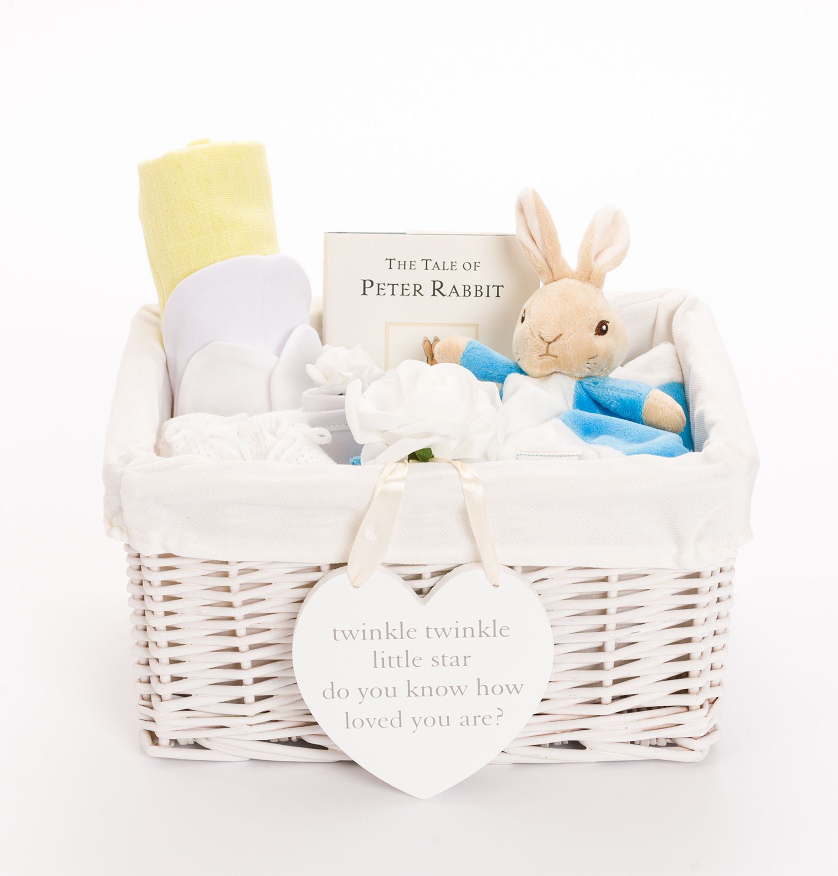 Unisex Baby Gifts Neutral Baby Hampers Peter Rabbit Baby Gifts Our Peter Rabbit Baby Hamper Makes A Perf Baby Hamper Unisex Baby Gifts Baby Shower Hamper