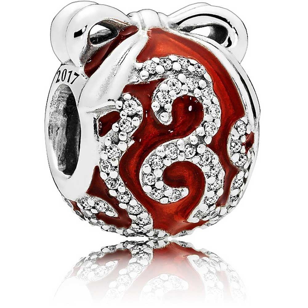 Pandora Limited Edition Bright Red Ornament Charm 796259en07 The Jewel Hut Pandora Blue Pandora Red Red Ornaments