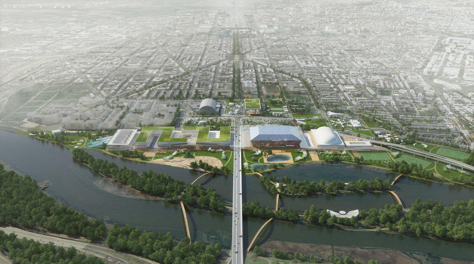 Galería de OMA revela dos planes de remodelación del Estadio RFK en Washington DC - 2