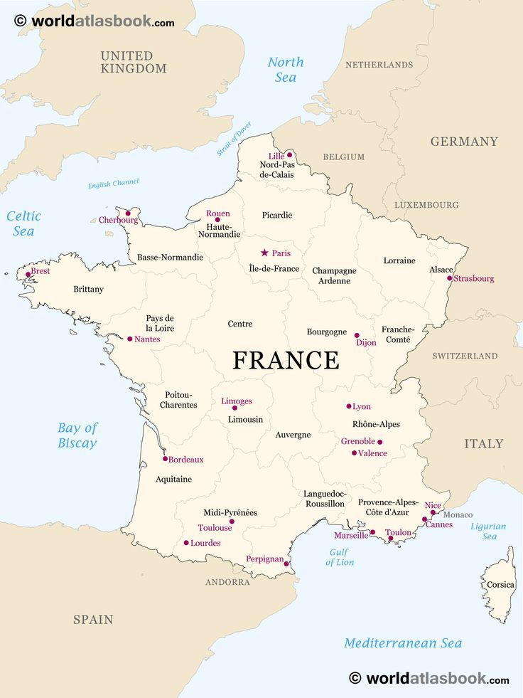 Printable Outline Maps For Kids Map Of France Outline Blank Map