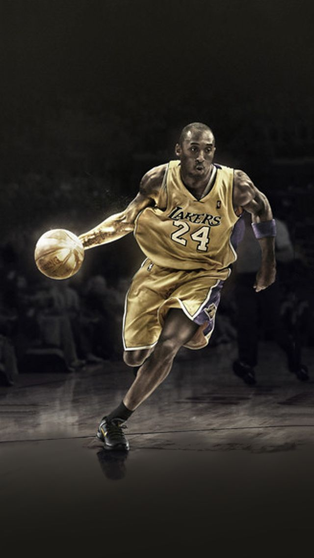 Kobe Bryant No24 Point Guard Of Los Angeles Lakers Get It