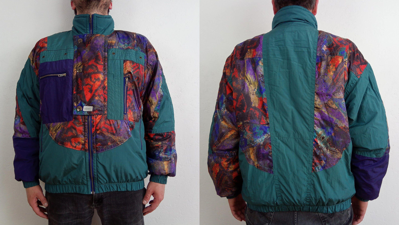 Mens ski jacket etirel ski jacket size l eur 52 us 42 uk