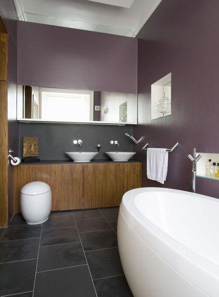 Beautiful Modern Mauve Bathroom Beyond Bathrooms In 2019