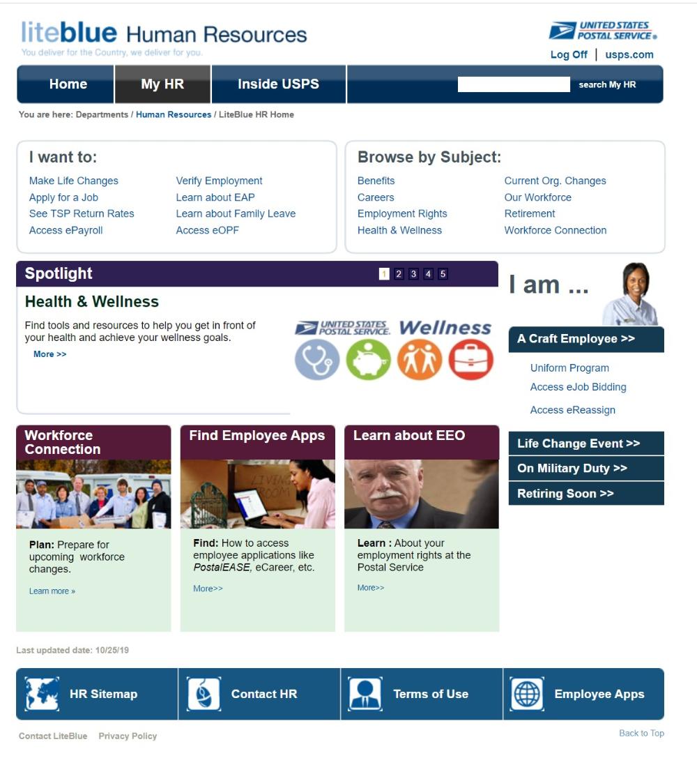 Access Liteblue Usps Gov Human Resources Usps Liteblue Human Resources Apply Job Health Check