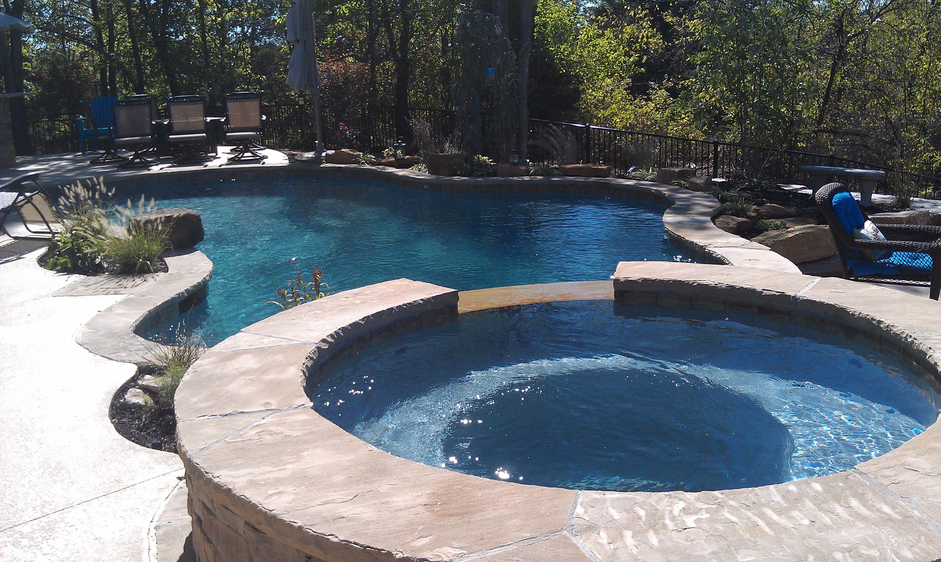 blue haven pools of kansas city custom free form gunite