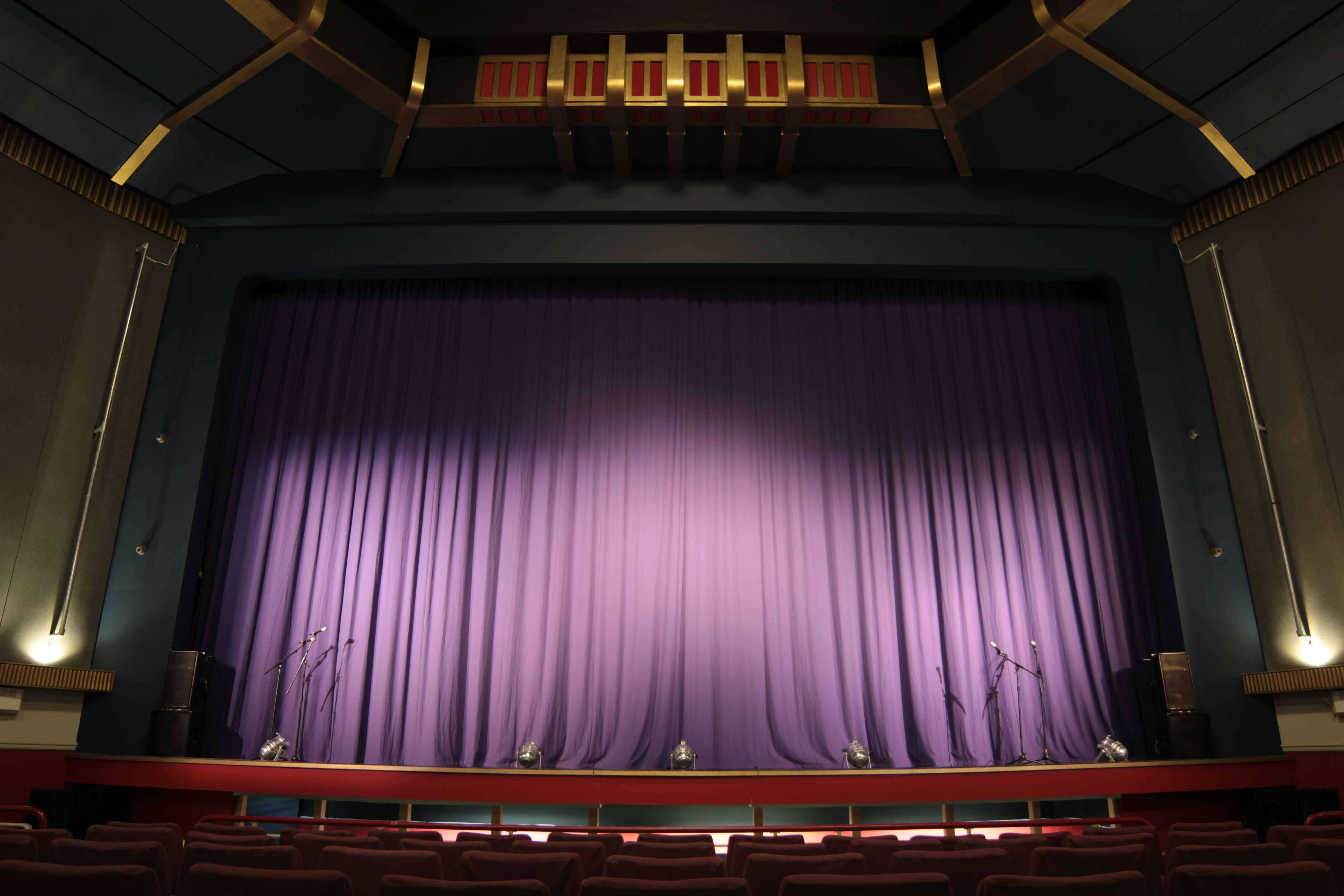 Real theater curtains - Regal Theatre Stage Jpg 5184 3456
