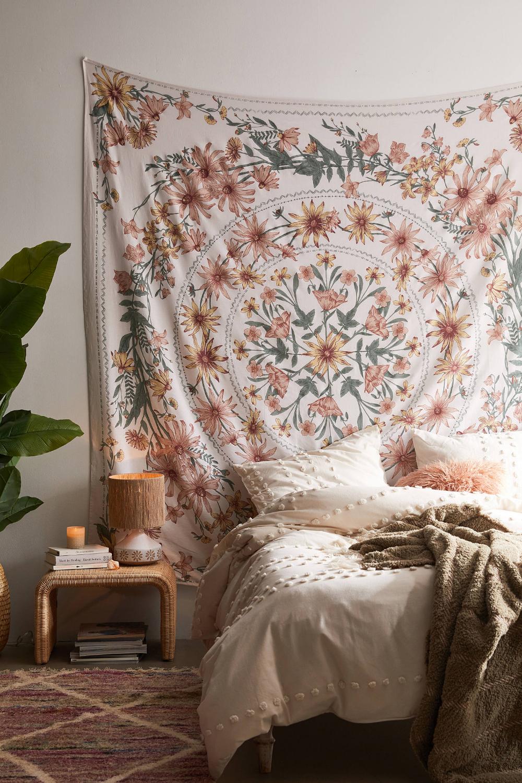 Clara Floral Tapestry