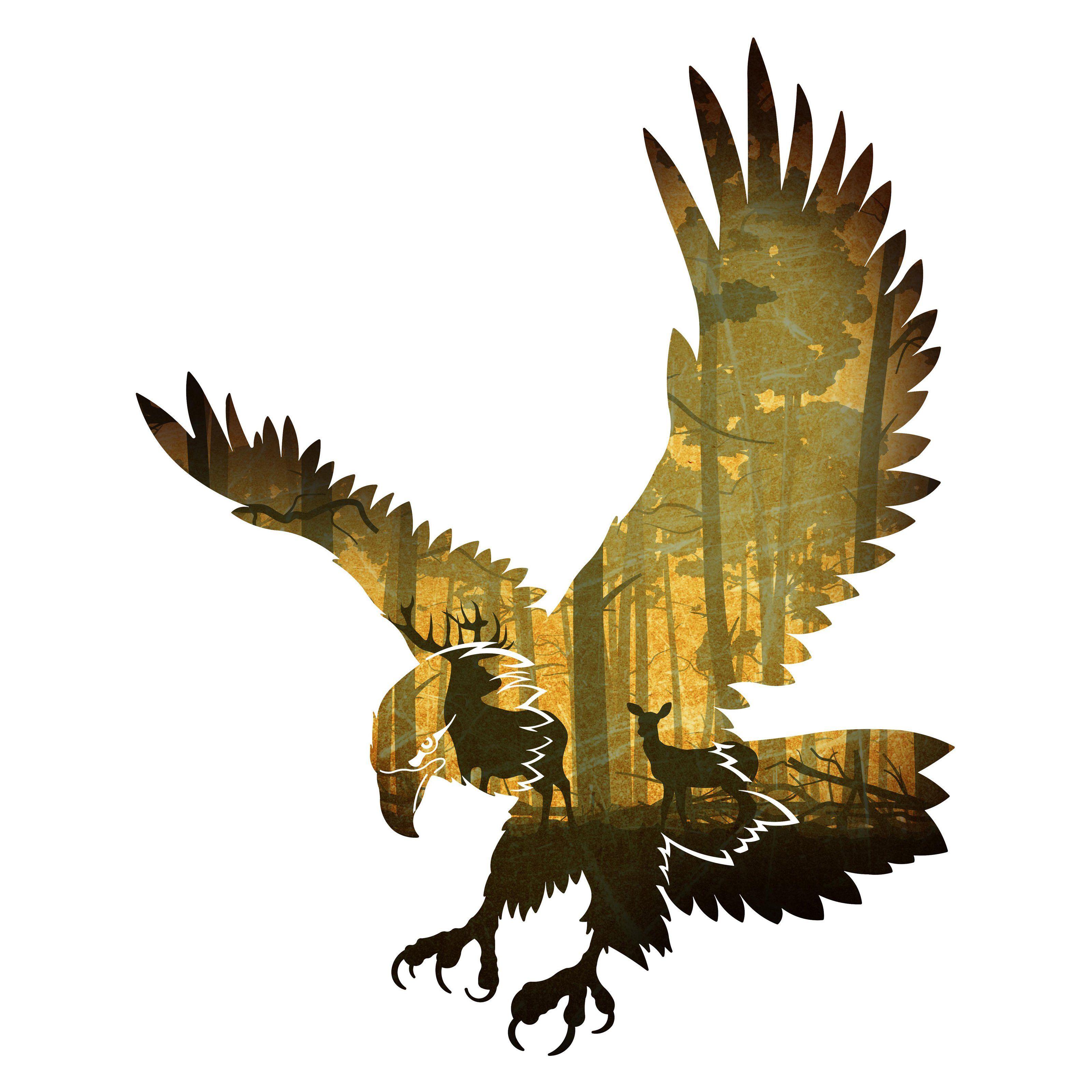 Next Innovations Eagle Deep Woods Wall Art - 101410021-DEEPWOODS ...