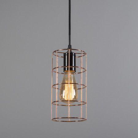 Hanglamp Frame koper, nu met maar liefst 70% korting! Zomer Solden! #solden #uitverkoop #korting #lampenlicht #hanglamp