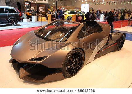 Lambo Go Kart Go Kart Lamborghini Stock Photos