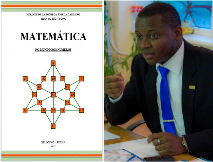 """Angolano candidato a ciência lançará sua segunda obra """"Matemática no mundo dos números"""" http://angorussia.com/comunidade/belgorod/angolano-candidato-a-ciencia-lancara-sua-segunda-obra-matematica-no-mundo-dos-numeros/"""