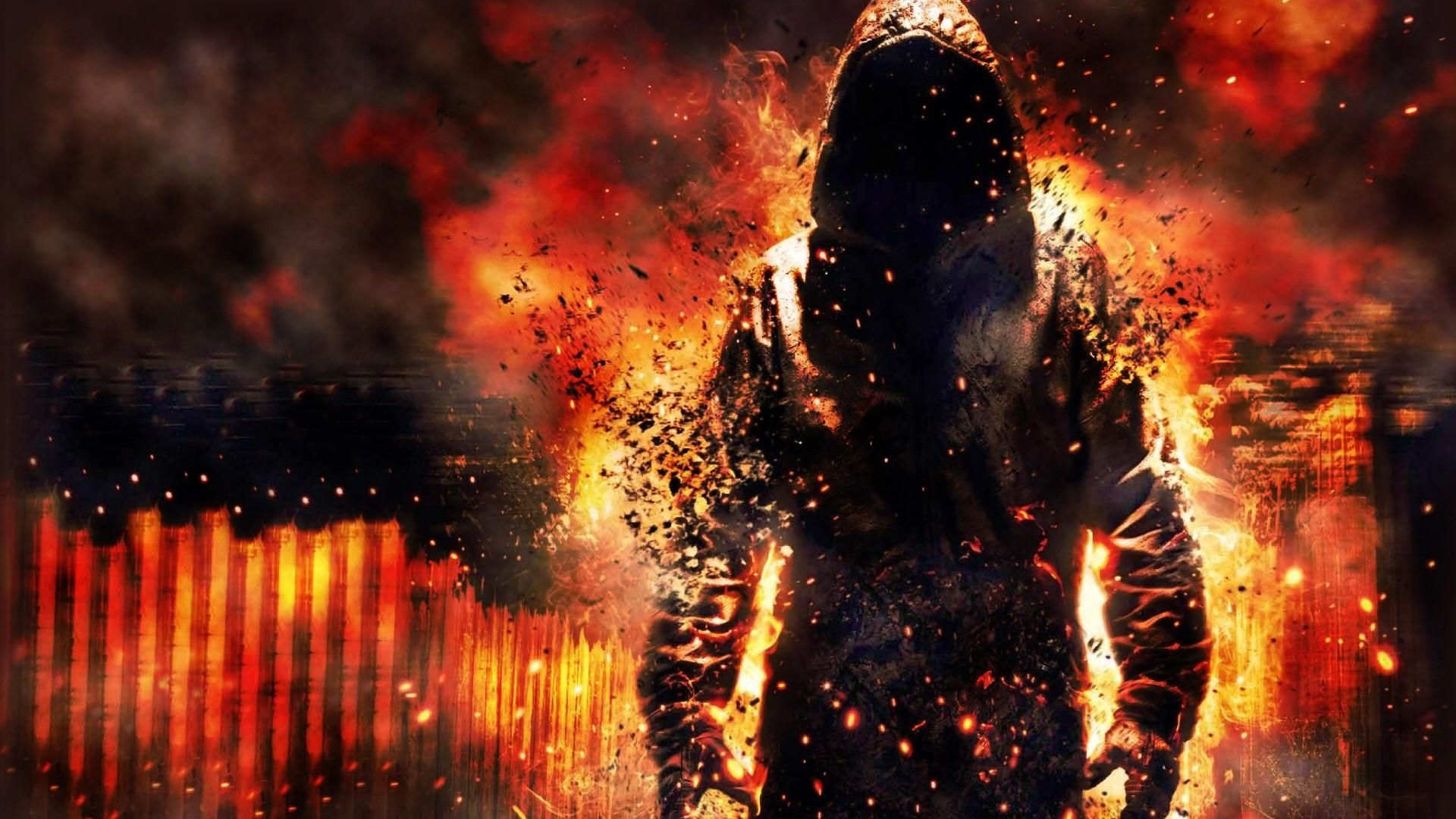 Cool hd desktop laptop wallpapers fire boy mask hd - Amazing wallpapers for boys ...