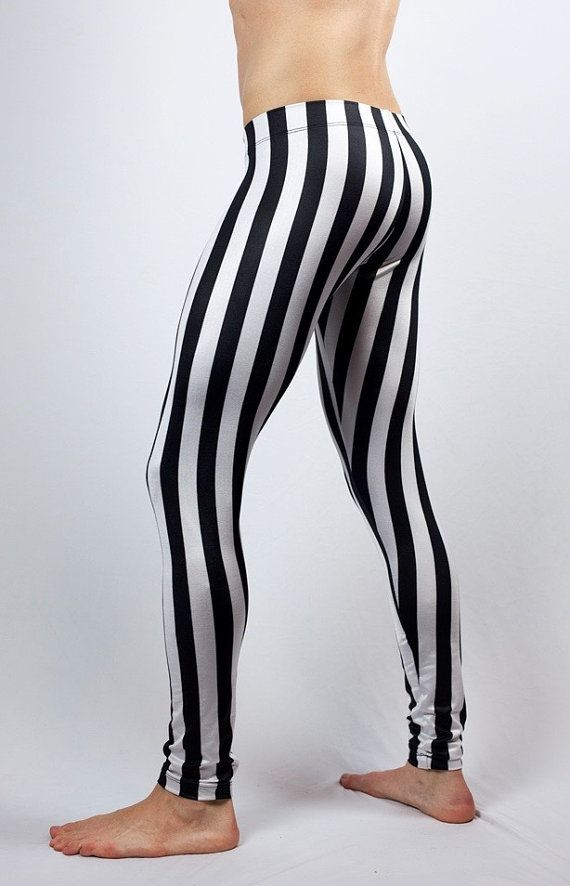 728d0aa8a8790 White Striped Pirate Pants    Steampunk Pants    Circus Pants     Renaissance leggings