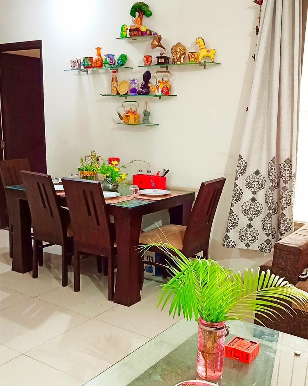 Pin By Swetha Surendranath On Sai Nilayam Colourful Living Room Decor Dining Wall Decor Indian Room Decor