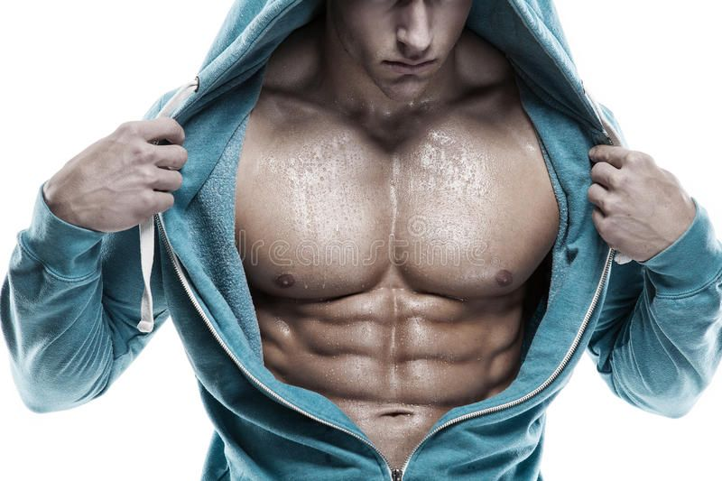 Strong Athletic Man Fitness Model Torso showing six pack abs. is. Strong Athleti , #AD, #Man, #Fitne...