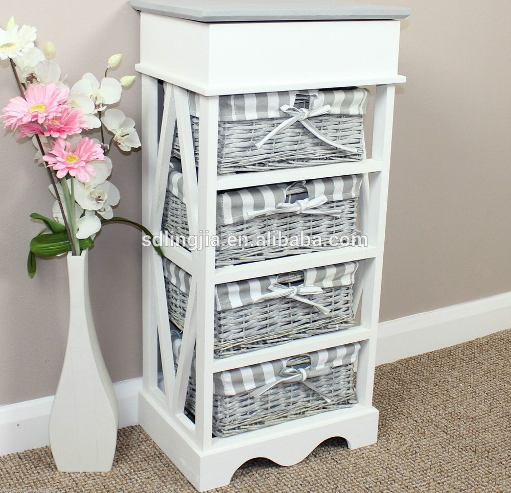 Bathroom Storage Cabinets With Wicker Drawers | Bathroom Cabinets ...