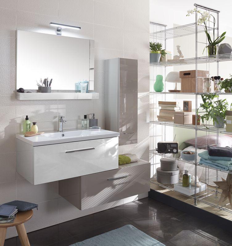 Meubles cooke lewis nida castorama salle de bain salle de bain salle de bains taupe et - Meubles salle de bain castorama ...
