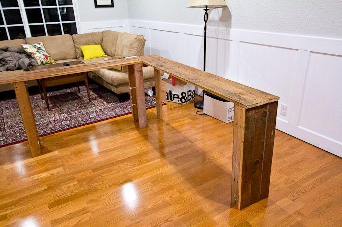 Sofa Table Made From Pallets Sofa Table Decor Diy Sofa Table