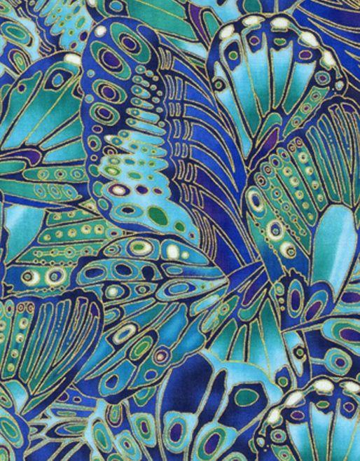 Mariposas Azul
