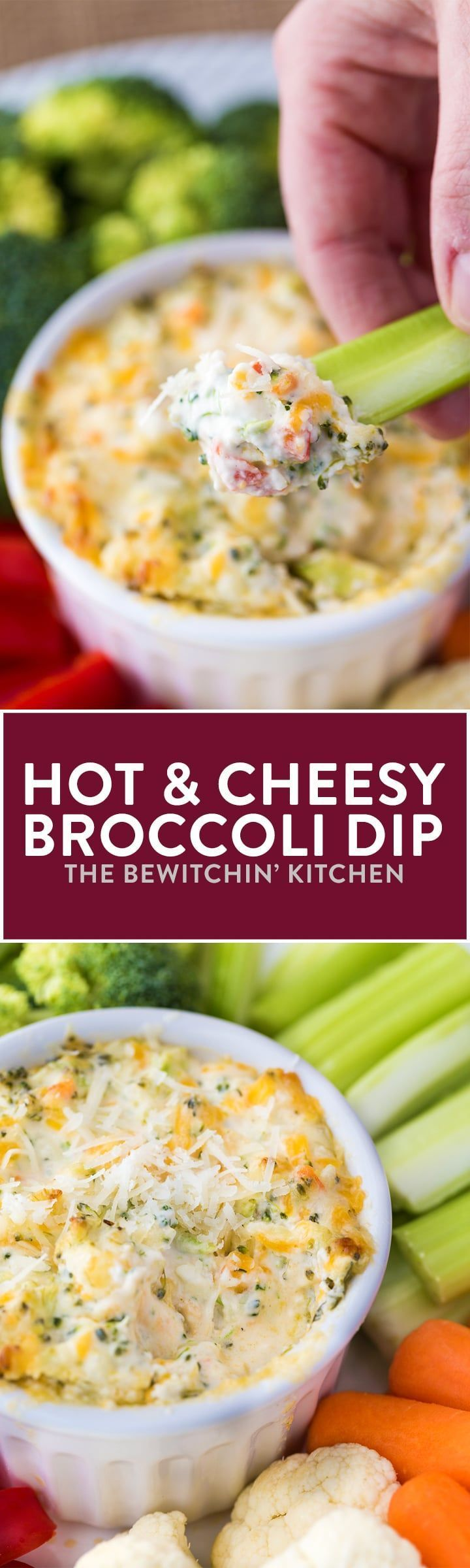 hot broccoli dip rezept appetizer bites pinterest essen creme und rezepte. Black Bedroom Furniture Sets. Home Design Ideas