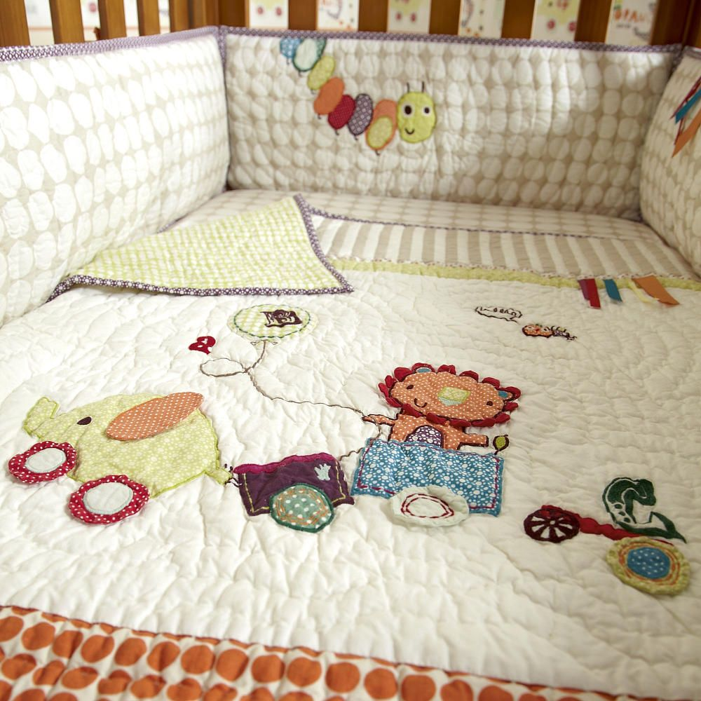 Mamas Papas Jamboree 4 Piece Bedding Set
