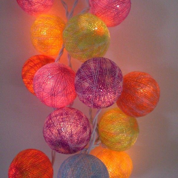 guirlande lumineuse Guirlande lumineuse 20 boules