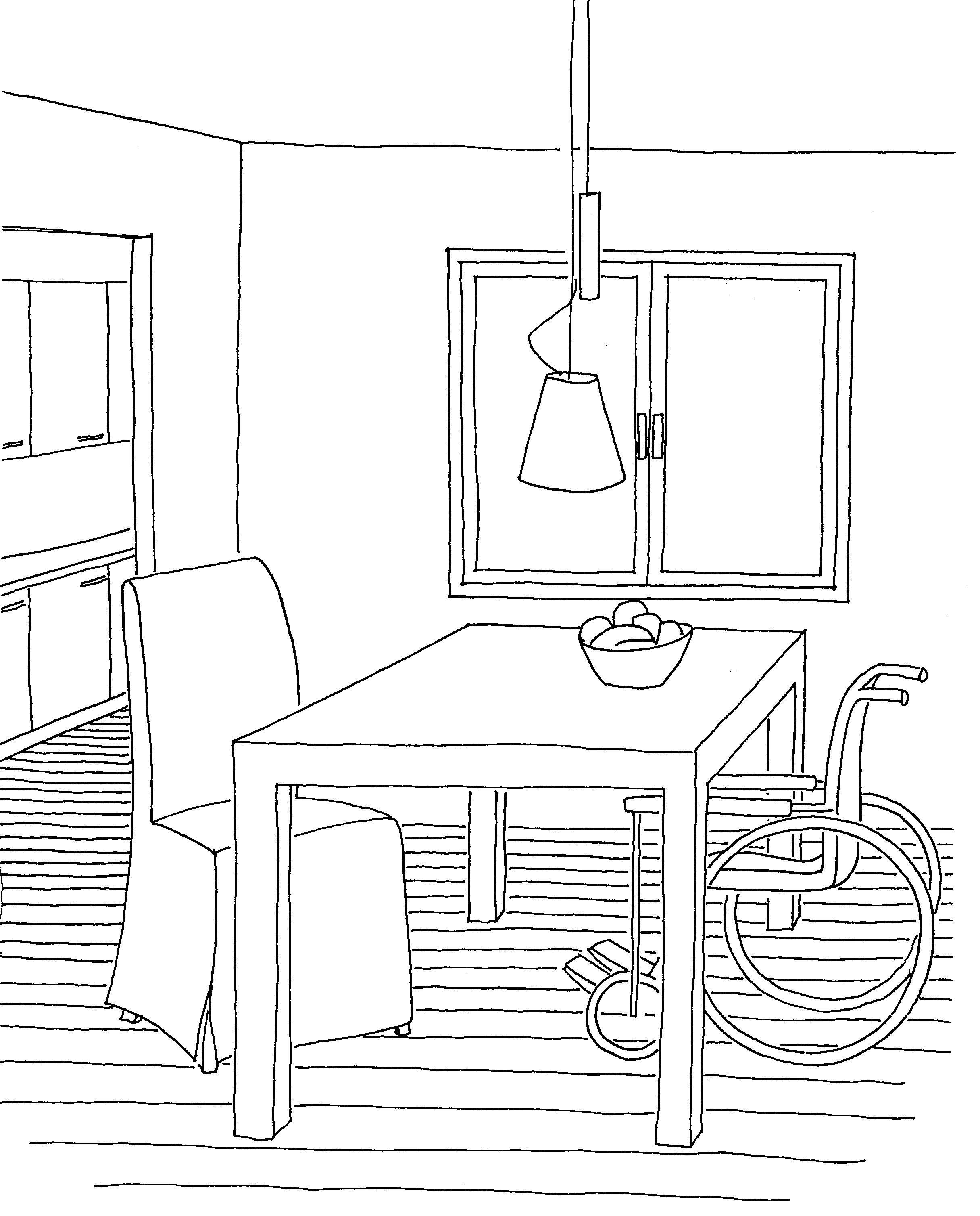 Wie in der Küche und am Arbeitsplatz, so spielt auch am Esstisch die ...