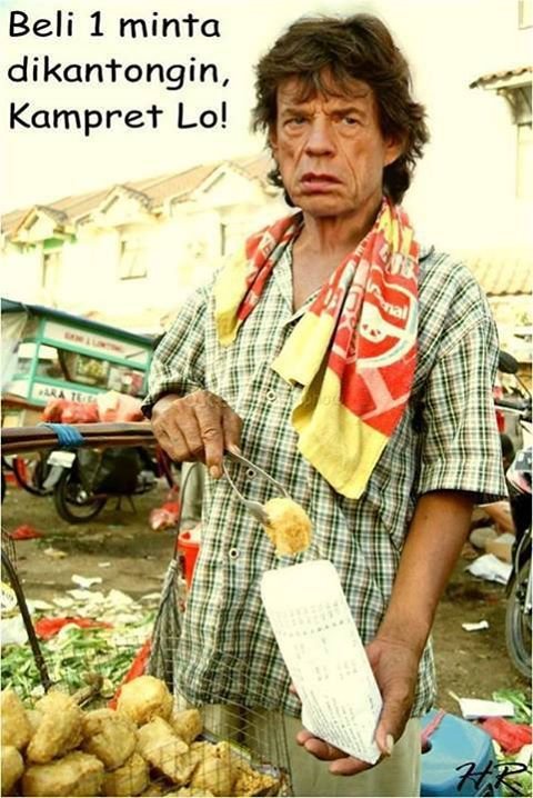 Foto Vokalis Rolling Stones Mick Jagger Funny quotes