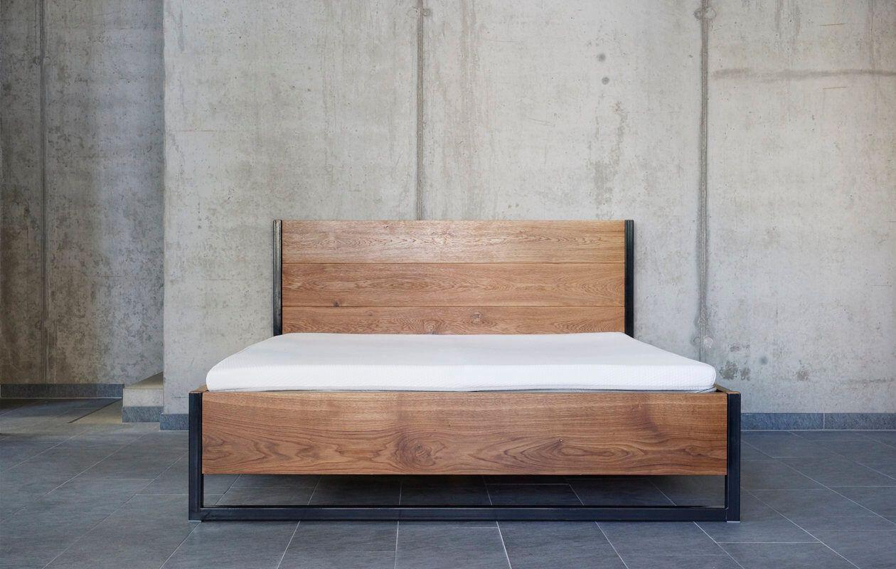 Rustrel Oak Bed Black Grey Bett Ideen Eichenbetten Bett