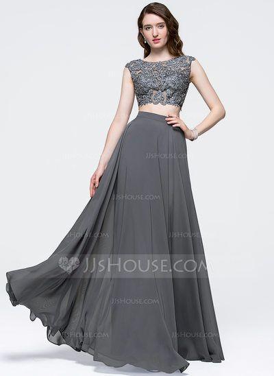 A Line Glitter Prom Dresses